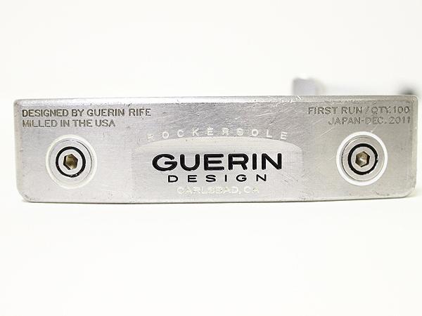GUERIN DESIGN ゲリンデザイン 303SS ウエイト付属