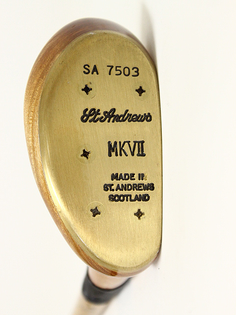 St.Andrews ヒッコリー クラシックパター MKVⅡ