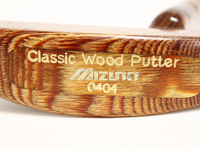 ミズノ Classic Wood Putter 0404