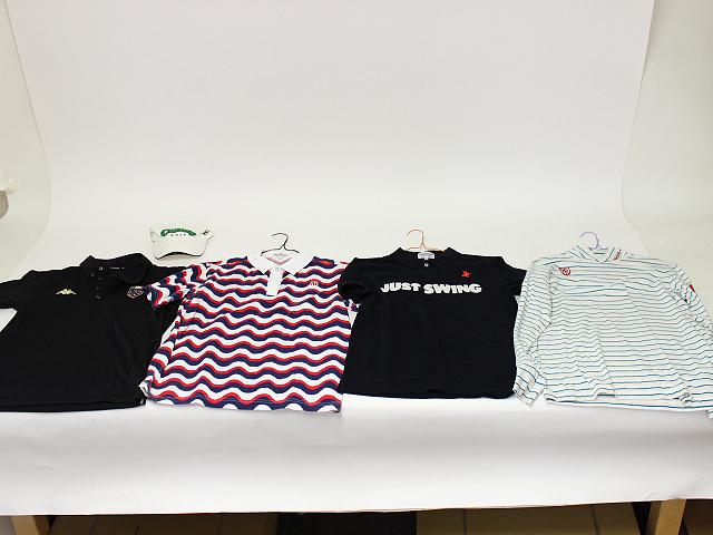 パーリーゲイツ 3枚 Kappa 1枚 ポロシャツ/シャツ 4点